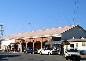 Narutō Station - Station forecourt after rebuilding, December 2009
