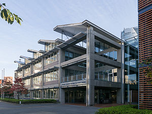 National Graduate Institute for Policy Studies - The facade of the Japan National Graduate Institute for Policy Studies in Tokyo