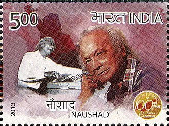 Naushad - Naushad on a 2013 stamp of India