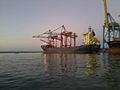 Navire THASOS au coucher du soleil.jpg