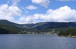 Skyline of Town of Nederland, Colorado