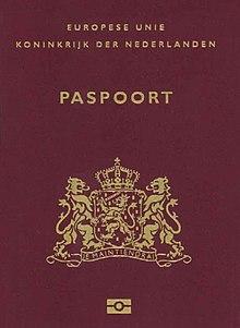 paspoort wikipedia