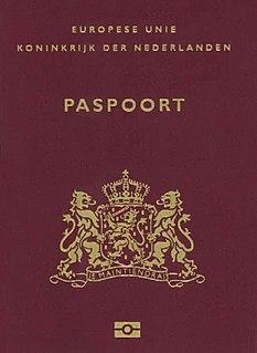 Visa requirements for Dutch citizens