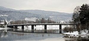 Nedre Eiker - Nedre Eiker bridge