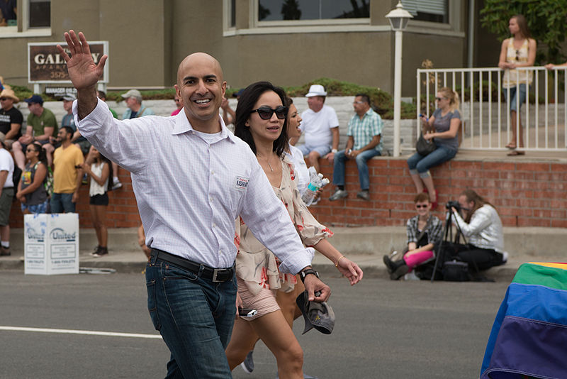 File:Neel Kashkari marching in the 2014 San Diego LGBT Pride Parade.jpg