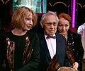 Nestroy 2009 (40) Birgit Minichmayr, Otto Tausig, Sona MacDonald.jpg