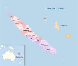 neukaledonien karte Neukaledonien – Wikipedia