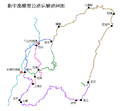 New Central Cross-Island Highway Network Map (Simplified Chinese).png
