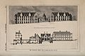 New Infirmary, Leeds, Yorkshire; with architectural designs. Wellcome V0012811.jpg