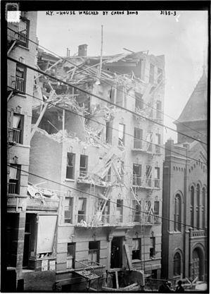 Lexington Avenue explosion - 1626 Lexington Avenue in Manhattan, July 4, 1914