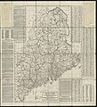 New commercial, sportsmens and route survey of Maine showing all postoffices, railroads, electric roads, principal highways, lighthouses, camps and trails, with index showing population latest census (8347224750).jpg