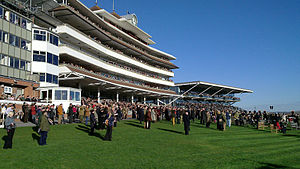 Newbury Racecourse - Image: Newbury Stands