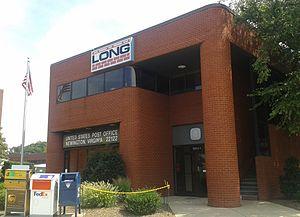 Newington, Virginia - Post office in Newington