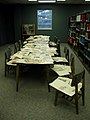 Newspaper clippings table (3820957485).jpg