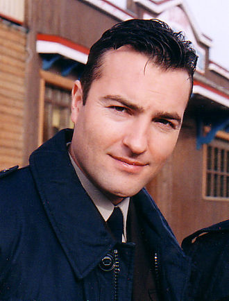 Nick Berry - Nick Berry as Nick Rowan, at Cochrane, Alberta