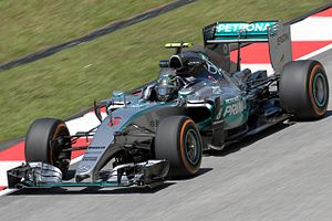 Mercedes F1 W06 Hybrid - Nico Rosberg drove the F1 W06 Hybrid.