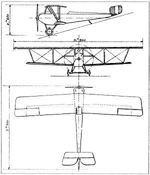 Nieuport 14 - Nieuport 14 drawing