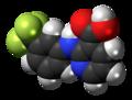 Niflumic acid molecule spacefill.png