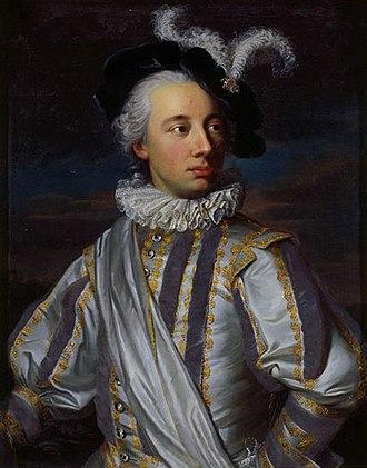 Jakob Emanuel Handmann - Image: Niklaus Tscharner 1755