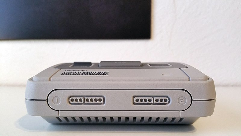 File:Nintendo Classic Mini Super Nintendo Entertainment System - Front.jpg