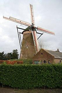 Molen van Aerden Windmill in the Netherlands