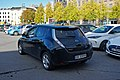 Nissan Leaf EV parking lot Oslo 10 2018 3808.jpg