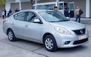 Nissan Latio - Nissan Sunny (pre-facelift)