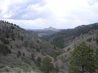 White Mountain Wilderness - Image: Nogal Peak