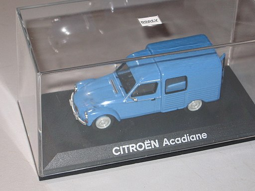 Norev model car acadiane