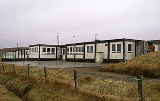Portable building - North Isles Motel in Cunnister, Shetland