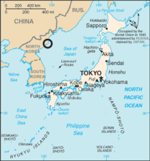 North Korea launch site in Sea of Japan map.png
