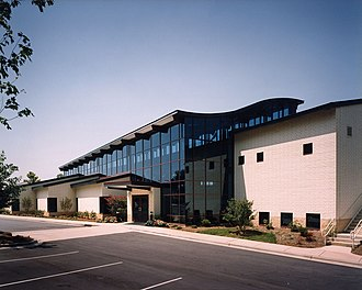 Huntersville, North Carolina - The North County branch (located in Huntersville) of the Public Library of Charlotte and Mecklenburg County