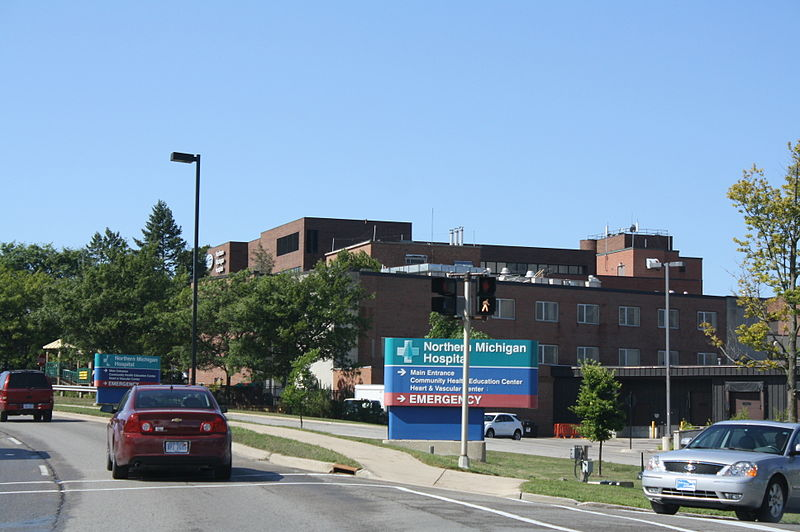 File:Northern Michigan Hospital Petoskey Michigan.jpg
