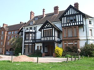 Northfield, Birmingham - Northfield Manor House - former home of George Cadbury and now owned by Birmingham University