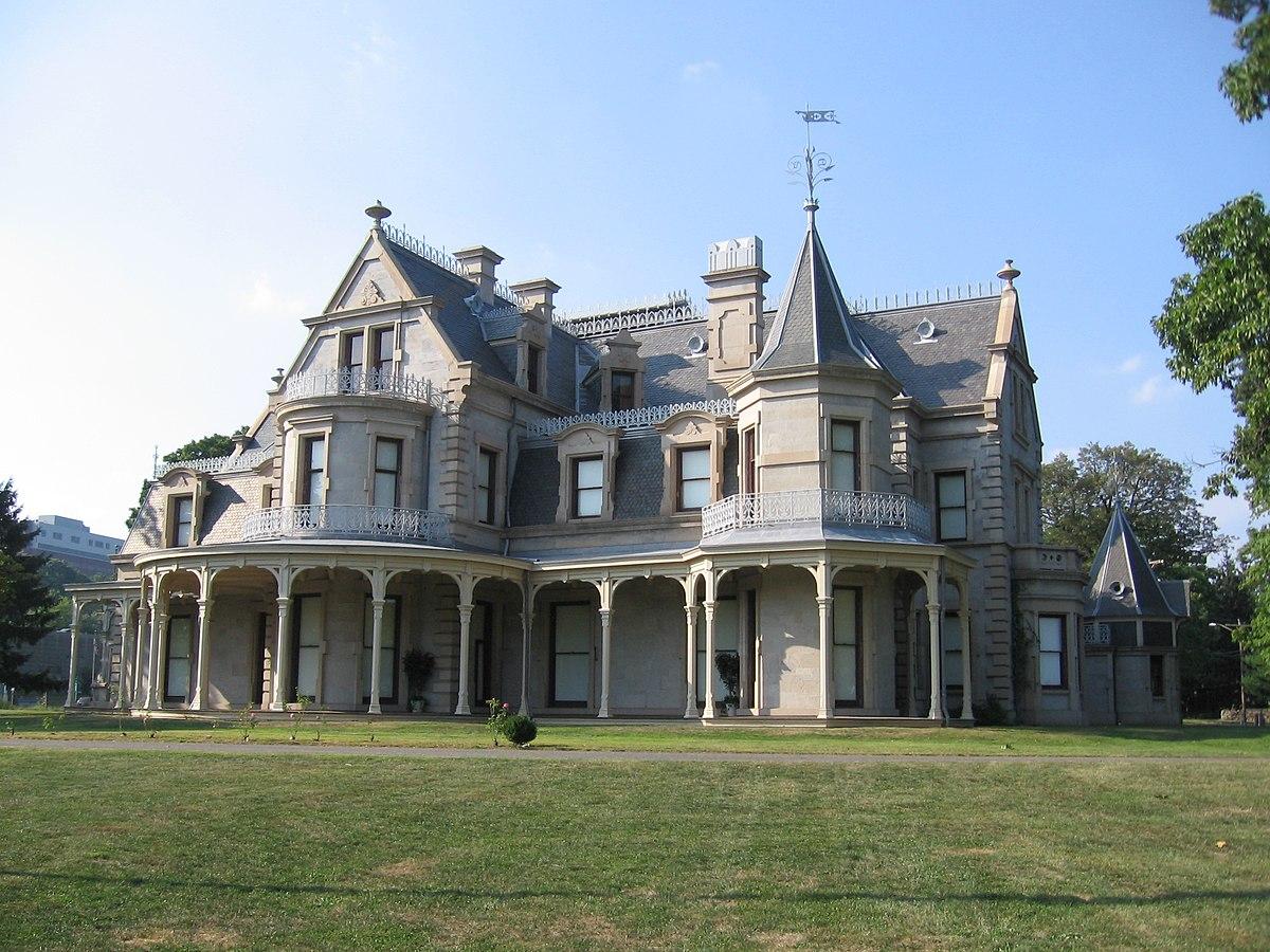 Lockwood mathews mansion wikipedia for New house hall