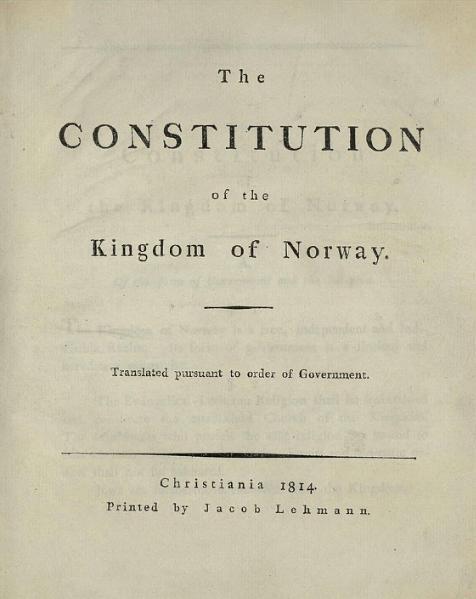 File:Norwegian Constitution.djvu