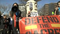 File:Not My President's Day Protest VOA.webm
