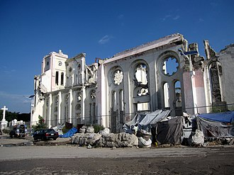 Cathedral of Our Lady of the Assumption, Port-au-Prince - Image: Notre Dame Catholic Cathedral Port au Prince (8070543162)