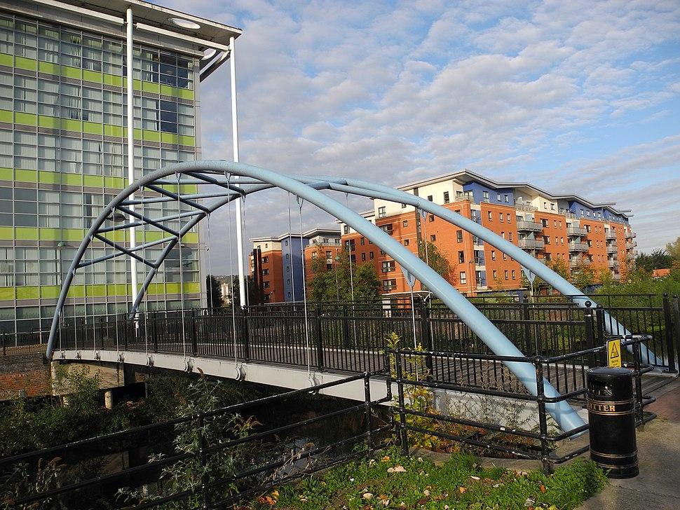 Nursery Street Footbride, Sheffield