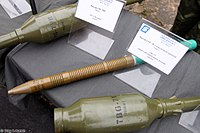 OG-7V round with fragmentation grenade at Interpolitex-2016 01.jpg