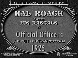 <i>Official Officers</i> 1925 film