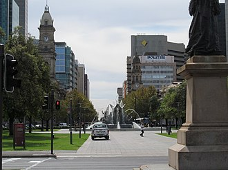 General Post Office, Adelaide - Image: OIC victoria square N from grote