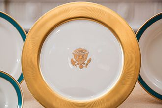 White House china - Obama State China service.