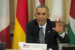 Obama meets with coalition Chiefs of Defense 141014-D-KC128-292.jpg