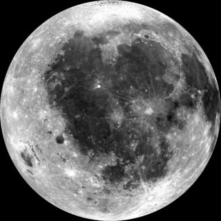 Oceanus Procellarum Vast lunar mare on the western edge of the near side of Earths Moon