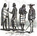 Officiers et soldats paraguayens (Guerre du Paraguay).jpg