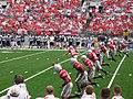 Ohio State Buckeyes kickoff 2007.jpg