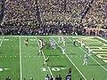 Ohio State vs. Michigan football 2013 07 (Michigan on offense).jpg