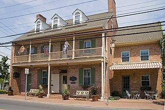 The Old Inn - Image: Old Inn, Saint Michaels, Maryland