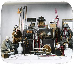 Samurai weapons and armor